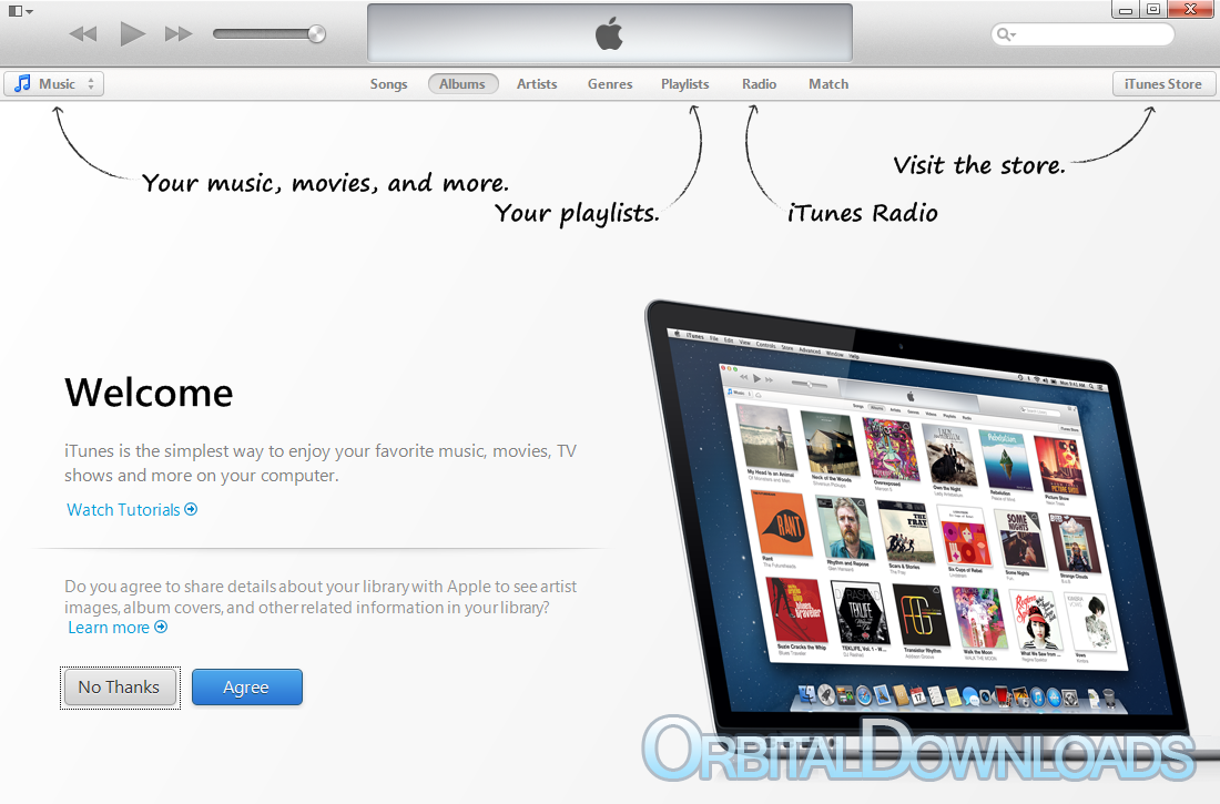 Download iTunes 11 4 (32-bit) - OrbitalDownloads