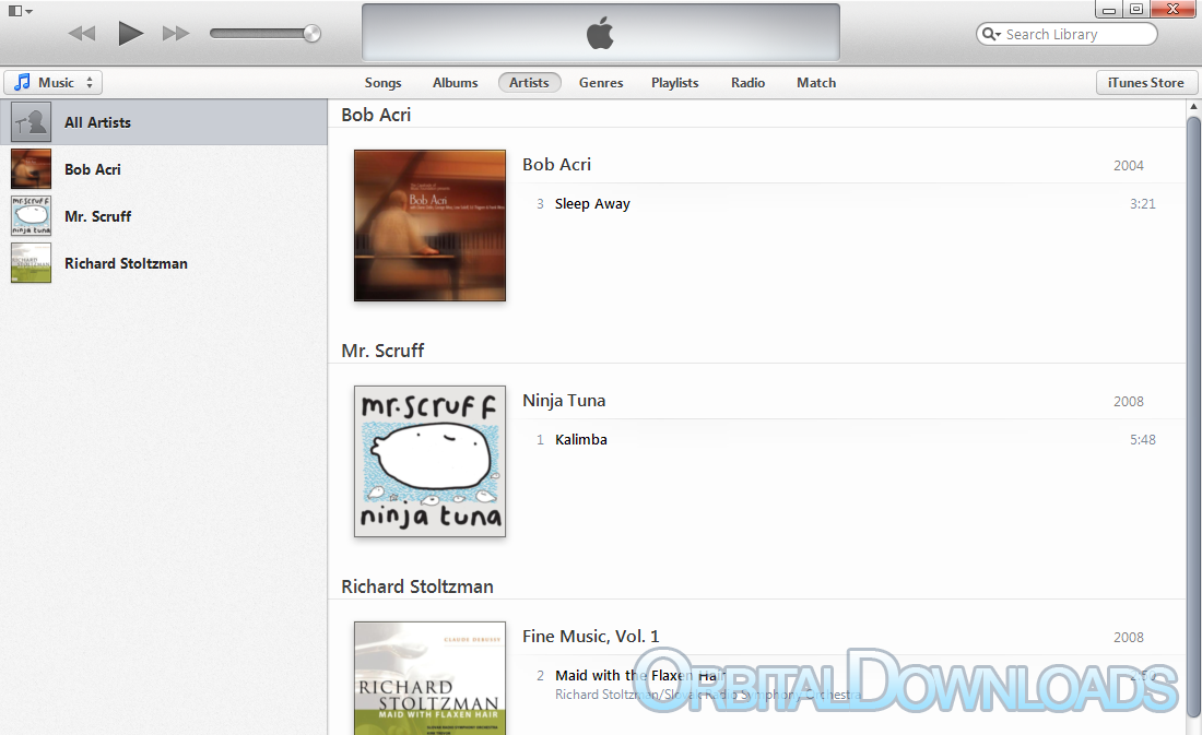Download iTunes 11 0 (64-bit) - OrbitalDownloads