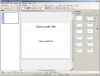 Screenshot of LibreOffice