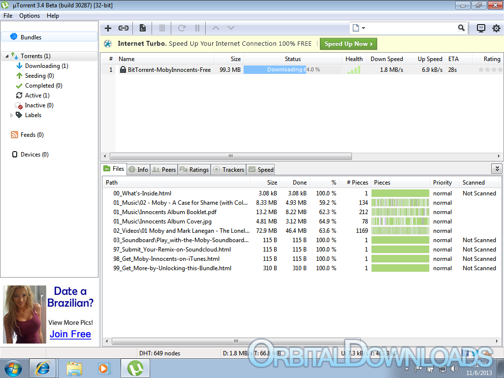 Utorrent 3. 2. 1 build 28086 final pc world testy i ceny sprzętu.